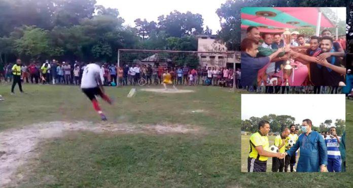 নড়াইলে শেখ রাসেল স্মৃ'তি ফুটবল টুর্নামেন্টে চ্যাম্পিয়ন পল্লব রাজিব স্মৃ'তি একাদশ