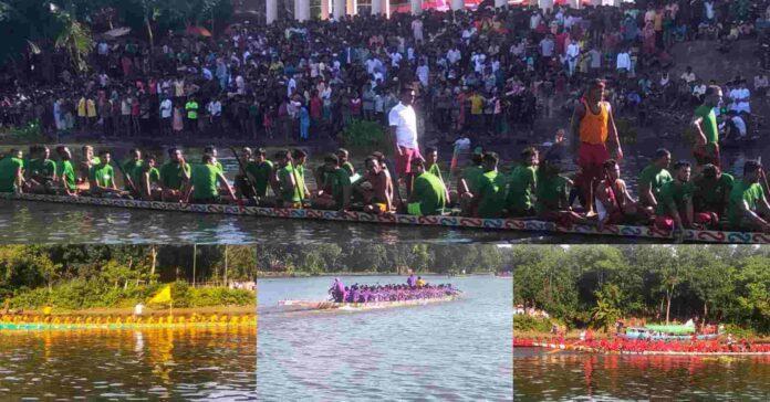 নড়াইলের চিত্রা নদীতে অনুষ্ঠিত হলো জমজমাট এস এম সুলতান নৌকা বাইচ